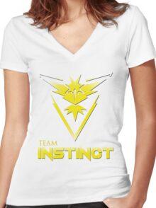Team Instinct V2 Women's Fitted V-Neck T-Shirt