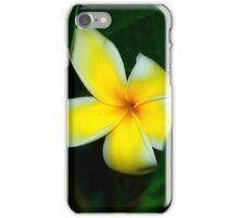 Plumeria In Hiding iPhone Case/Skin