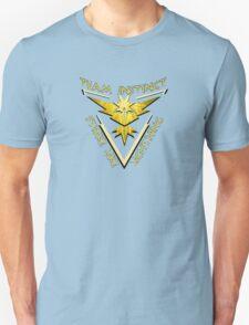 Team Instinct: Strike Like Lightning Unisex T-Shirt