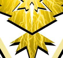 Team Instinct: Strike Like Lightning Sticker