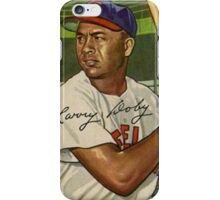 Larry Doby--1951 Baseball Card iPhone Case/Skin