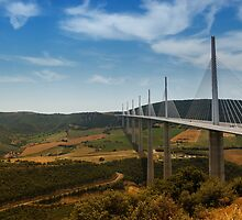 The Millau Viaduct - The Tallest Bridge in the World by Richard Munckton