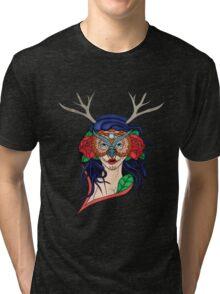 Owl Chick Tri-blend T-Shirt