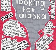 Looking For Alaska collage by ArtbyKaylee