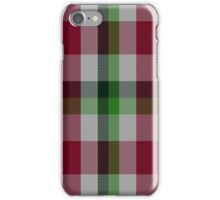 02258 Arisaid Say What (Unidentified) Tartan  iPhone Case/Skin