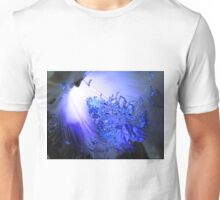 Blue and Light Unisex T-Shirt