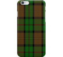 02256 Weatherman MacLeod (Unidentified) Tartan  iPhone Case/Skin