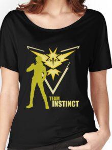 Team Instinct | Pokemon GO Women's Relaxed Fit T-Shirt