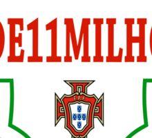 Portugal Euro 2016 Champions Tshirt  Sticker