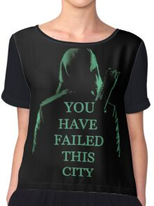 Arrow Quote S1 Chiffon Top
