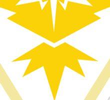 Pokemon Team Instinct Yellow Sticker