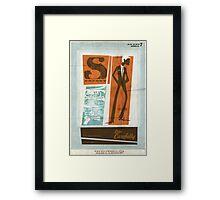 Agent 7 Framed Print
