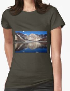 Pangong Blue water lake Womens Fitted T-Shirt