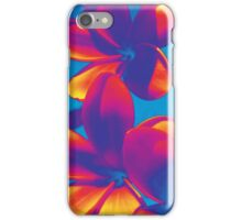 Fluro Frangipanis iPhone Case/Skin