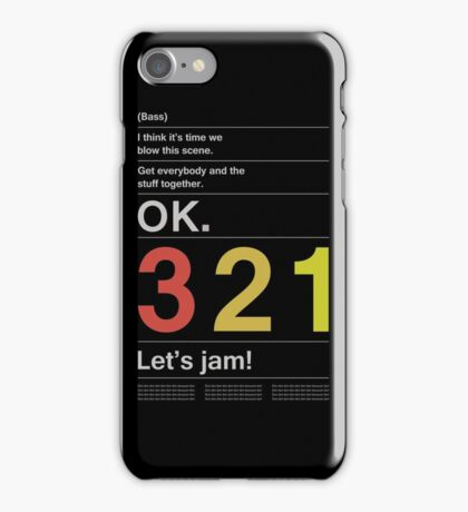 Cowboy Bebop Intro iPhone Case/Skin