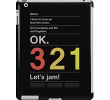 Cowboy Bebop Intro iPad Case/Skin