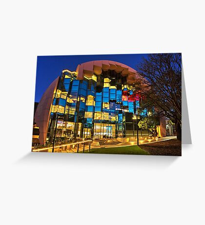 The Library - Geelong Greeting Card