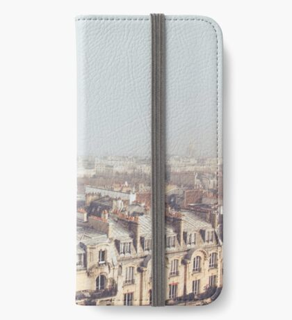 Paris Morning Rooftops iPhone Wallet