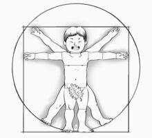 Vitruvian Baby Baby Tee
