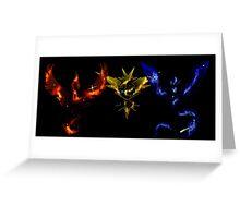 Pokemon Go: Nebula Teams Greeting Card