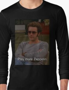 Play More Zeppelin Long Sleeve T-Shirt