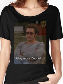 Play More Zeppelin Women's Relaxed Fit T-Shirt