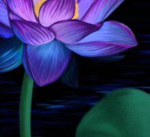 Night Lotus Sticker