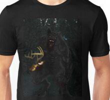 Werewolf and Deer Unisex T-Shirt
