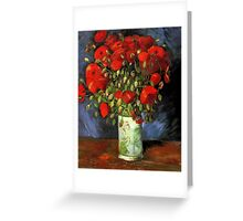 Vintage Fine Art - Vincent Van Gogh - 1886 Greeting Card