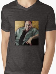 Tony Soprano Mens V-Neck T-Shirt