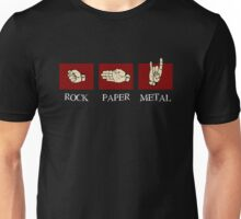 Rock Paper Metal Unisex T-Shirt