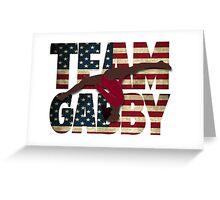 Team Gabby Douglas - USA (Olympic)  Greeting Card