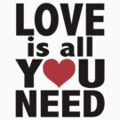 Love is all you need by Lorie Warren