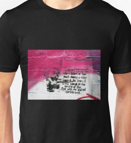 it doesn't matter... Unisex T-Shirt