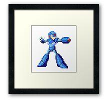 Megaman  Framed Print