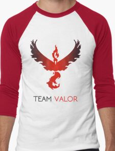 Pokemon GO! Team Valor Men's Baseball ¾ T-Shirt