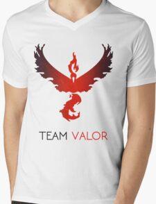 Pokemon GO! Team Valor Mens V-Neck T-Shirt