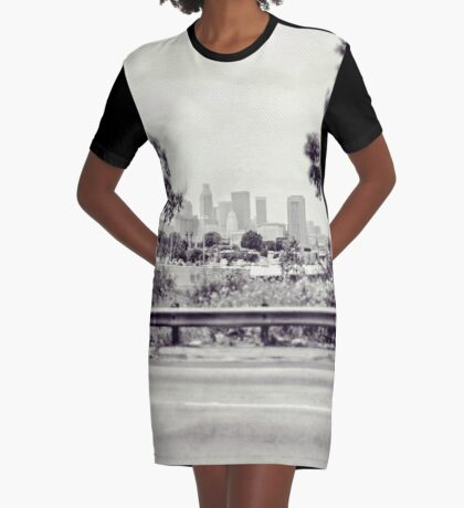 DTLA Graphic T-Shirt Dress