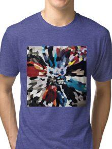 U2 - Achtung baby - Squares Tri-blend T-Shirt