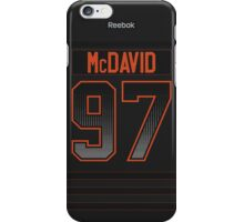 Edmonton Oilers Connor McDavid Accelerator Jersey Back Phone Case iPhone Case/Skin