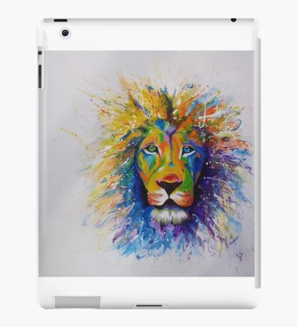 Wild colors of the world iPad Case/Skin