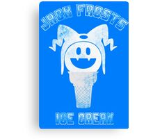 Jack Frosts Ice Cream Canvas Print