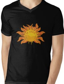 Le Soleil Mens V-Neck T-Shirt