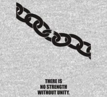 No Strength Without Unity - Business Quotes Poster One Piece - Long Sleeve