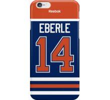 Edmonton Oilers Jordan Eberle Jersey Back Phone Case iPhone Case/Skin