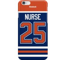 Edmonton Oilers Darnell Nurse Jersey Back Phone Case iPhone Case/Skin