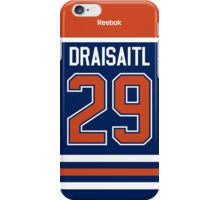 Edmonton Oilers Leon Draisaitl Jersey Back Phone Case iPhone Case/Skin