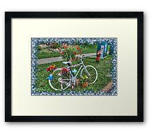 Flower Pedals Framed Print