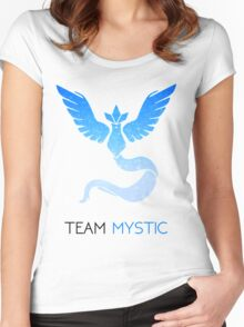 Pokemon GO! Team Mystic Women's Fitted Scoop T-Shirt