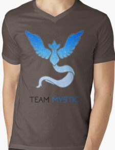 Pokemon GO! Team Mystic Mens V-Neck T-Shirt